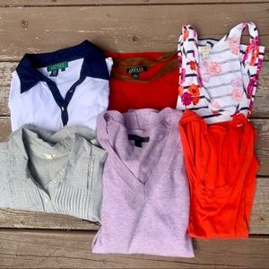 Preppy Top Lot Size Small J Crew Ralph Lauren